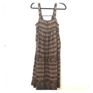 Free People Aztec Print Sundress With Pockets